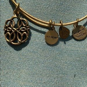 """Alex and Ani Jewelry - Alex and Ani gold bracelet with """"energy"""" charms"""